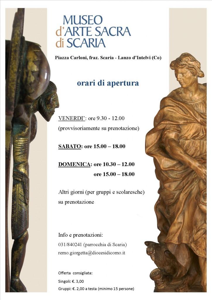 orari museo di Scaria
